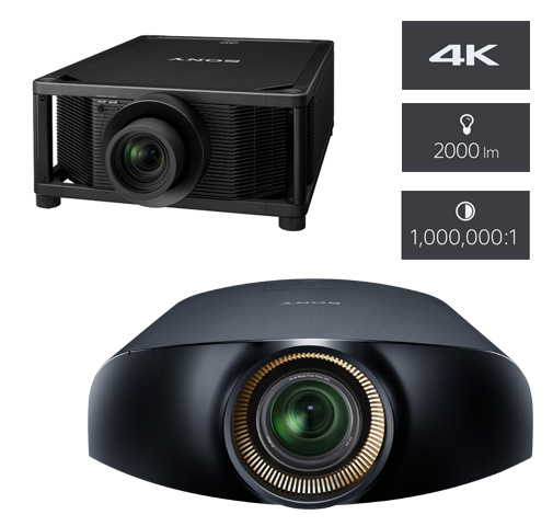 Sony 4K HDR Projectors available at SoundFX Home Theater