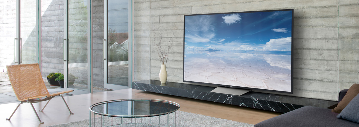 Sony 4k HDR Televisions from Sound FX Rhode Island