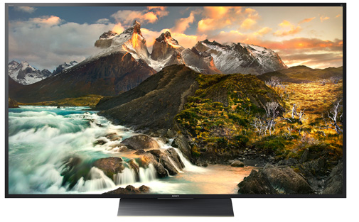 Sony 4K HDR Televisions available at SoundFX Home Theater