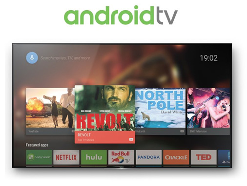 Android TV on Sony 4K HDR Televisions at SoundFX Home Theater