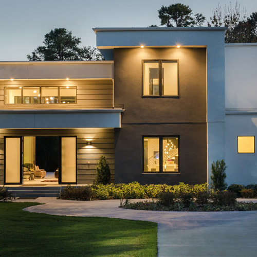 Lutron lighting and shades add safety and privacy to your home